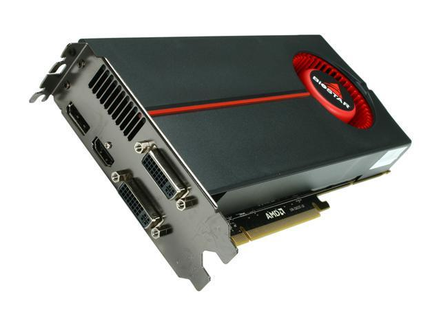 BIOSTAR Radeon HD 5850 DirectX 11 VA5855NPG2 1GB 256-Bit DDR5 PCI Express 2.0 x16 HDCP Ready CrossFireX Support Video Card w/ Eyefinity