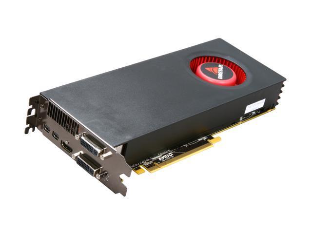 BIOSTAR Radeon HD 6870 DirectX 11 VA6875NPG2 1GB 256-Bit DDR5 PCI Express 2.1 x16 HDCP Ready CrossFireX Support Video Card with Eyefinity