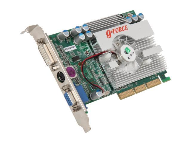 BIOSTAR GeForce FX 5500 DirectX 9 VN5500NS21 Video Card
