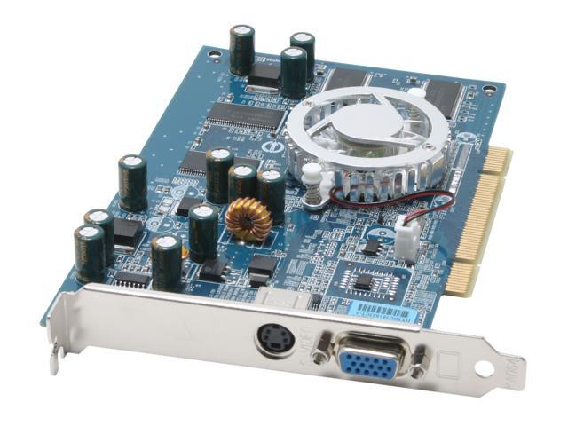 3D Fuzion GeForce FX 5500 DirectX 9 3DFR55256P 256MB 128-Bit DDR PCI Video Card