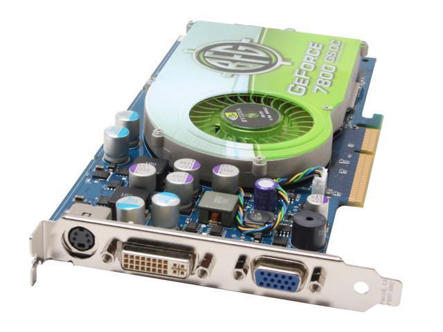 BFG Tech GeForce 7800GS DirectX 9 BFGR78256GSOC Video Card