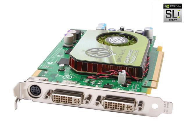 BFG Tech GeForce 7600GT DirectX 9 BFGR76256GTOCE Video Card
