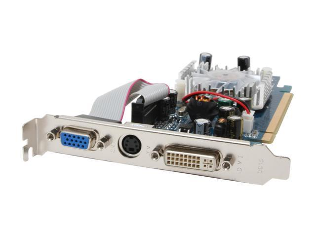 3D Fuzion GeForce 6200LE TC DirectX 9 3DFR6200LEE 256MB(128MB on Board) 64-Bit DDR PCI Express x16 Video Card