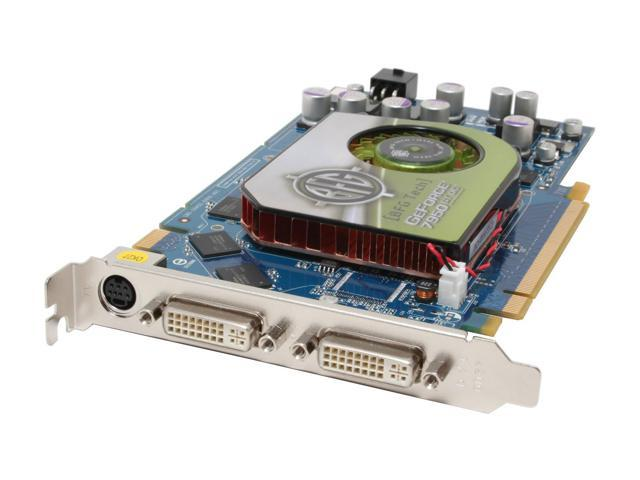 BFG Tech 7 GeForce 7950GT DirectX 9 BFGR7950512GTOCE 512MB 256-Bit GDDR3 PCI Express x16 SLI Support OC Edition Video Card
