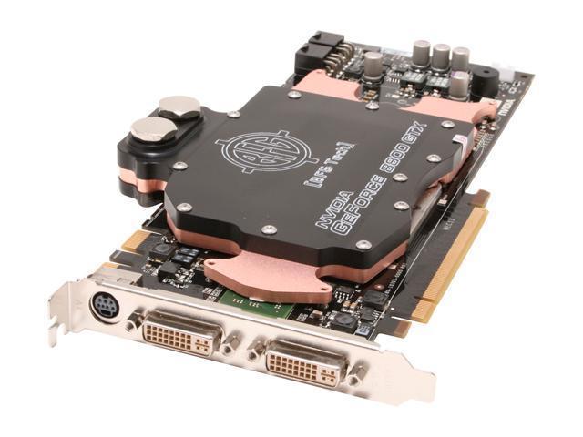 BFG Tech XLR8 GeForce 8800 GTX DirectX 10 BFGR88768GTXWC25E 768MB 384-Bit GDDR3 PCI Express x16 HDCP Ready SLI Support Water Cooled HDCP Video Card