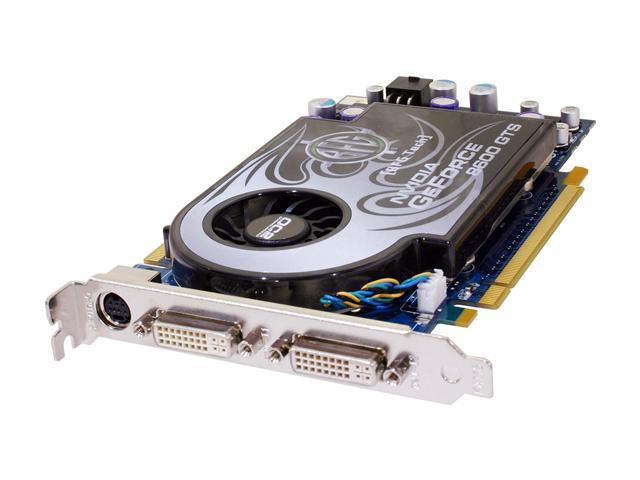 BFG Tech GeForce 8600 GTS DirectX 10 BFGE86256GTSOC2FE 256MB 128-Bit GDDR3 PCI Express x16 HDCP Ready SLI Support Video Card