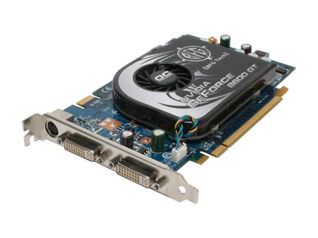 BFG Tech XLR8 GeForce 8600 GT DirectX 10 BFGE86256GTOCFE 256MB 128-Bit GDDR3 PCI Express x16 HDCP Ready SLI Support Video Card