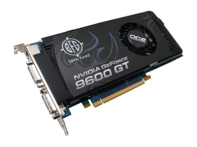 BFG Tech GeForce 9600 GT DirectX 10 BFGE96512GTOC2E Video Card