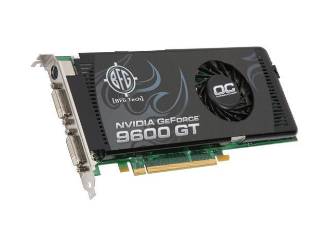 BFG Tech GeForce 9600 GT DirectX 10 BFGE96512GTOCE Video Card