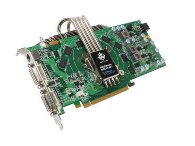 BFG Tech GeForce 9800 GT DirectX 10 BFGE98512GTHE Video Card