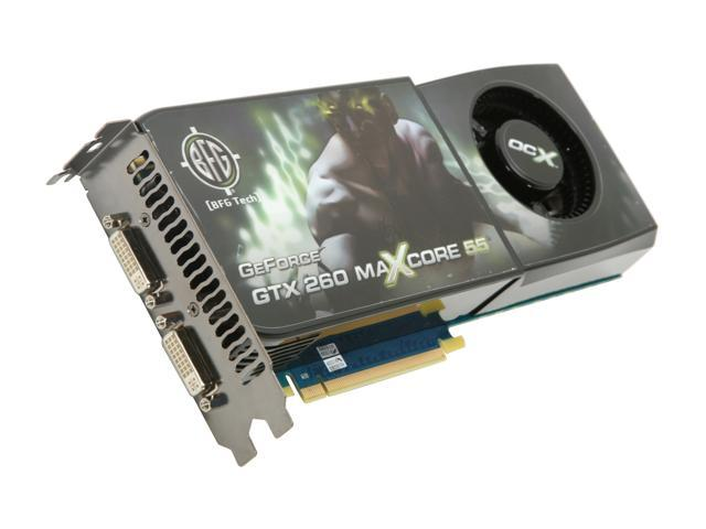 BFG Tech GeForce GTX 260 DirectX 10 BFGEGTX260MC896OCXDE Video Card