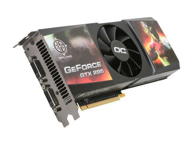 BFG Tech GeForce GTX 295 DirectX 10 BFGEGTX2951792OCBE Video Card