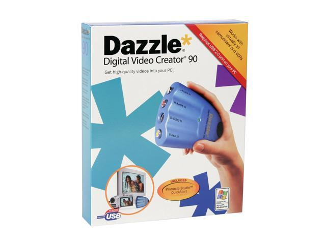 Pinnacle 210100371 Dazzle Digital Video Creator 90