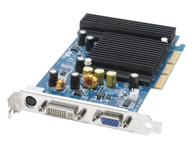 CHAINTECH GeForce 6200 DirectX 9 SA62A-512 512MB 64-Bit DDR SDRAM AGP 4X/8X Video Card