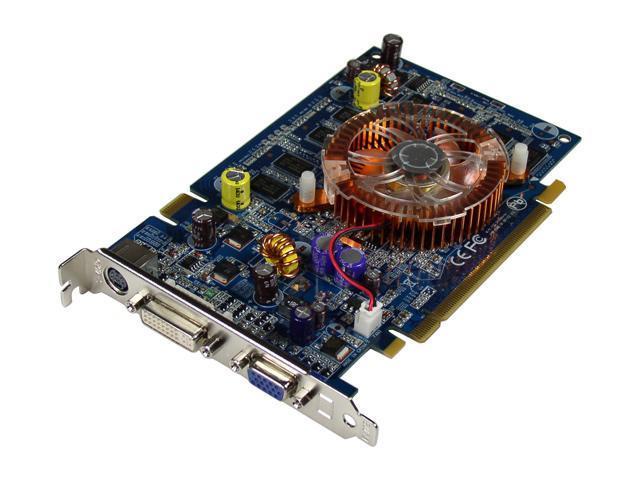 CHAINTECH GeForce 7600GS DirectX 9 GSE76GS-A1 Video Card