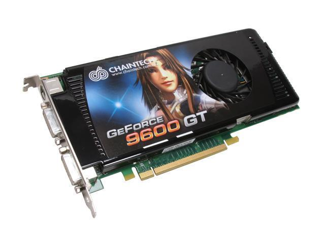 CHAINTECH GeForce 9600 GT DirectX 10 GAE96GTC (With 4G Dual Kit Memory) Video Card