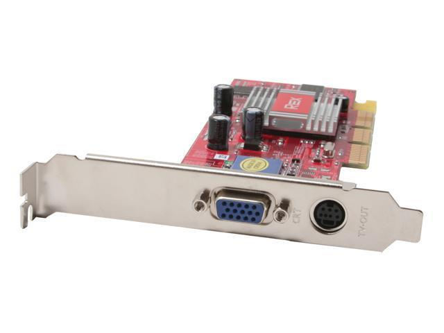 PC CHIPS Radeon 7000 DirectX 7 R7000LE-64T Low Profile Video Card