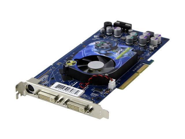 XFX GeForce 6800 DirectX 9 PVT40KND 128MB 256-Bit DDR AGP 4X/8X Video Card