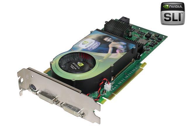 XFX GeForce 6800Ultra DirectX 9.0c PVT45FYD 512MB 256-Bit GDDR3 PCI Express x16 SLI Support Video Card