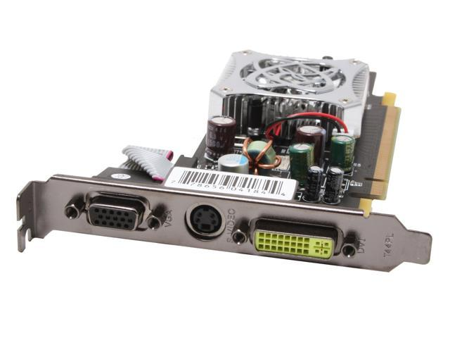 XFX GeForce 7300GS DirectX 9 PVT72GWANG 512MB(256MB on Board) 64-Bit GDDR2 PCI Express x16 Video Card