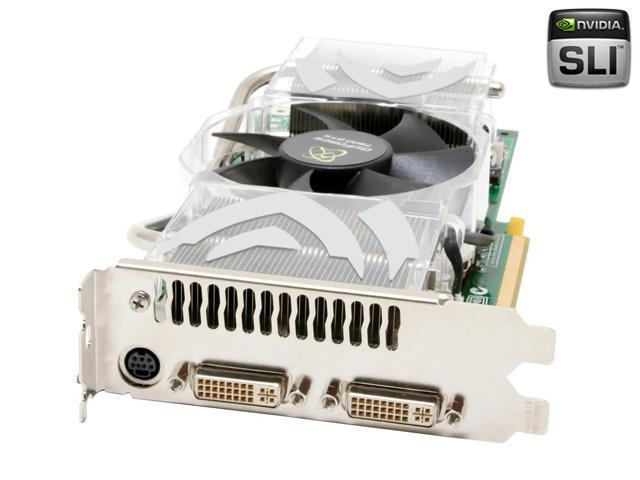 XFX PV-T71F-YDE9 GeForce 7900GTX 512MB 256-bit GDDR3 PCI Express x16 SLI Supported Video Card