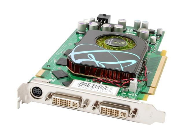 XFX PV-T71G-UDE7 GeForce 7900GT 256MB 256-bit GDDR3 PCI Express x16 SLI Supported Video Card