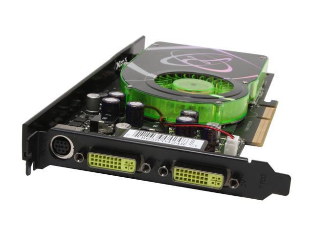 XFX GeForce 6800XT DirectX 9 PVT42KUDE3 256MB 256-Bit GDDR3 AGP 4X/8X Video Card