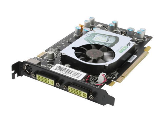 XFX GeForce 8600 GT DirectX 10 PVT84JUDF3 256MB 128-Bit GDDR3 PCI Express x16 SLI Support Video Card