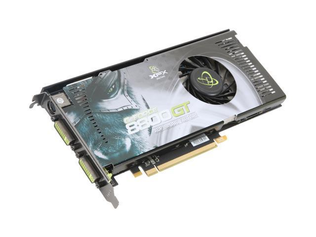 XFX PVT88PYDD4 GeForce 8800GT XXX 512MB 256-bit GDDR3 PCI Express 2.0 x16 HDCP Ready SLI Supported Video Card