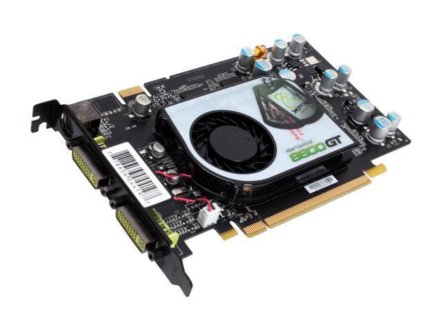XFX GeForce 8600 GT DirectX 10 PVT84JYDF3 512MB 128-Bit GDDR3 PCI Express x16 HDCP Ready SLI Support Video Card