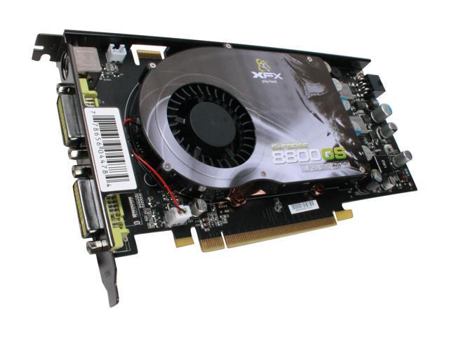 XFX GeForce 8800 GS DirectX 10 PVT88SFDD4 Video Card