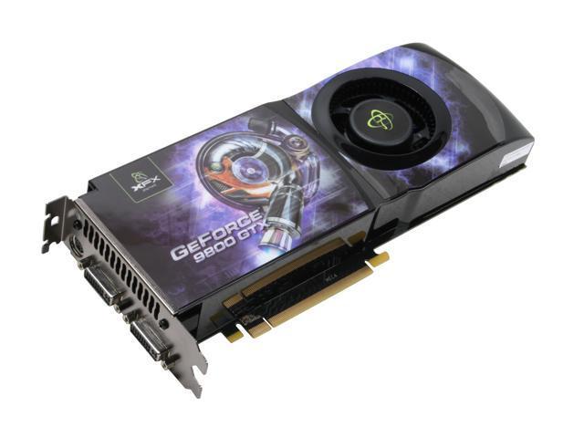 XFX GeForce 9800 GTX(G92) DirectX 10 PVT98FYDF9 Video Card