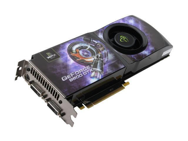 XFX GeForce 9800 GTX(G92) DirectX 10 PVT98FYDDU Video Card