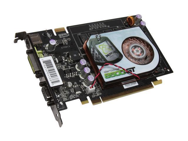 XFX GeForce 8500 GT DirectX 10 PVT86JZAFG Video Card