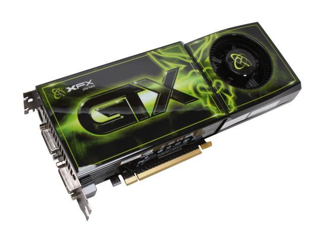 XFX GeForce GTX 280 DirectX 10 GX280NZDF9 1GB 512-Bit GDDR3 PCI Express 2.0 x16 HDCP Ready SLI Support Video Card