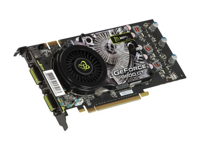 XFX GeForce 9800 GT DirectX 10 PVT98GYDLH 512MB 256-Bit GDDR3 PCI Express 2.0 x16 HDCP Ready SLI Support Video Card