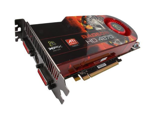 XFX Radeon HD 4870 DirectX 10.1 HD-487A-YDDC Video Card