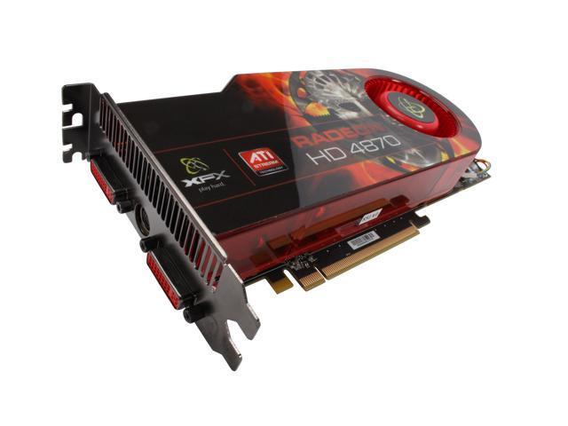 XFX Radeon HD 4870 DirectX 10.1 HD-487A-ZDDC Video Card
