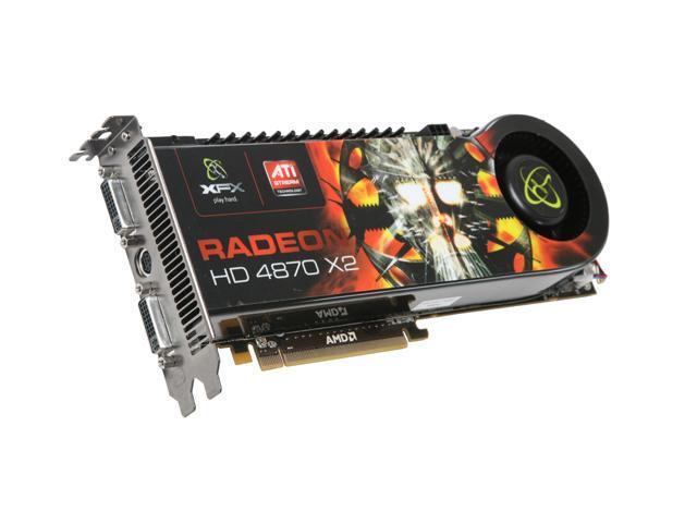 XFX Radeon HD 4870 X2 DirectX 10.1 HD-487A-CDF9 Video Card