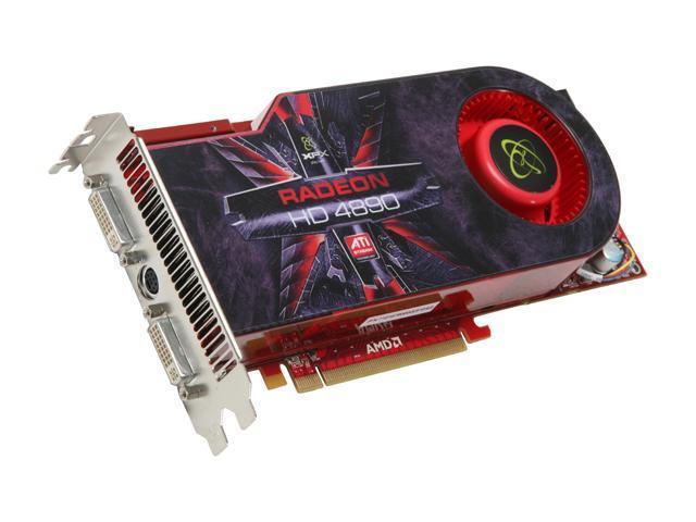 XFX Radeon HD 4890 DirectX 10.1 HD-489A-ZDEC Video Card