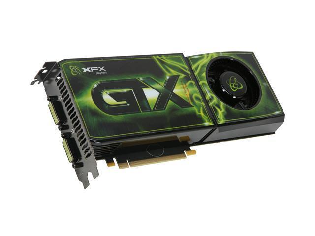XFX GeForce GTX 285 DirectX 10 GX285XZWFF 1GB 512-Bit DDR3 PCI Express 2.0 x16 HDCP Ready SLI Support Video Card