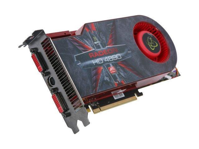 XFX HD-489A-ZDDC Radeon HD 4890 XXX Edition 1GB 256-bit GDDR5 PCI Express 2.0 x16 HDCP Ready CrossFire Supported Video Card