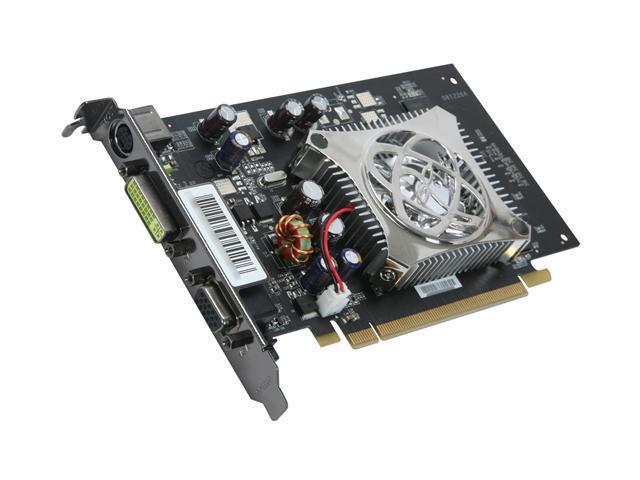 XFX GeForce 8400 GS DirectX 10 PVT86SYAF 512MB 64-Bit GDDR2 PCI Express x16 HDCP Ready Video Card