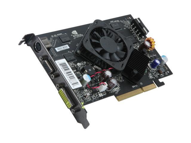 XFX GeForce 7600GS DirectX 9 PV-T73K-YAL 512MB 128-Bit DDR2 AGP 8X HDCP Ready Video Card