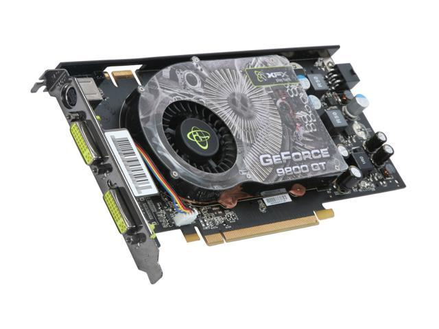 XFX GeForce 9800 GT DirectX 10 PV-T98G-YDL Video Card