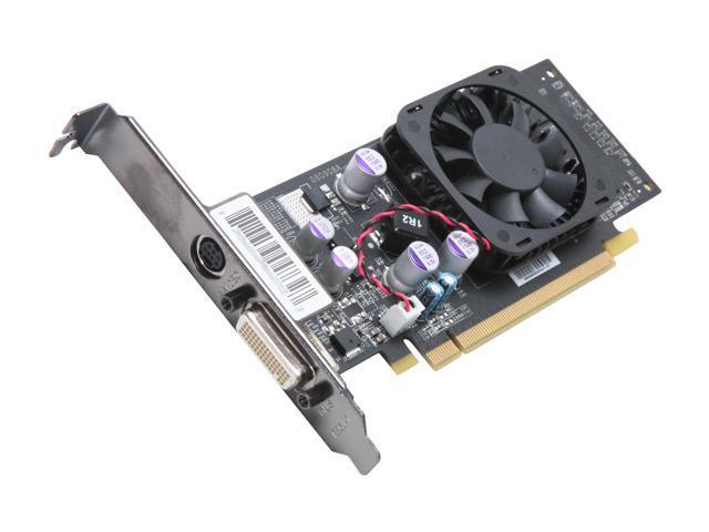 XFX GeForce 8400 GS DirectX 10 PVT86SYMFC 512MB 64-Bit DDR2 PCI Express 2.0 x16 HDCP Ready Low Profile Ready Video Card