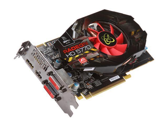 XFX Radeon HD 5770 DirectX 11 HD-577X-ZNFC 1GB 128-Bit