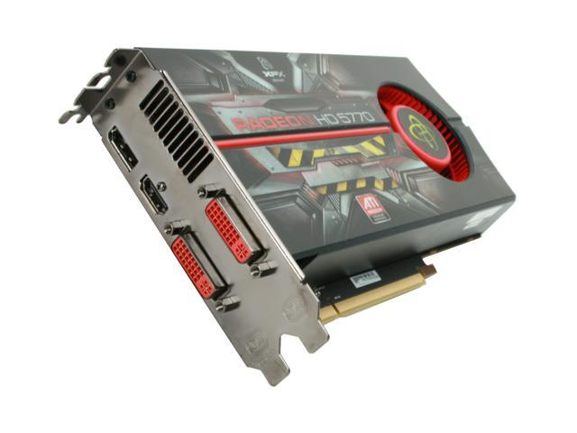 XFX HD-577A-ZNEC Radeon HD 5770 XTreme Edition 1GB 128-bit GDDR5 PCI Express 2.0 x16 HDCP Ready CrossFireX Support Video Card