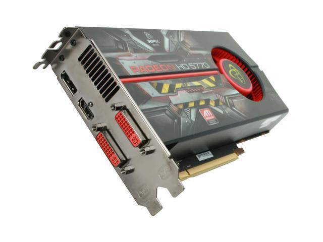 XFX HD-577A-ZNEC Radeon HD 5770 XTreme Edition 1GB 128-bit GDDR5 PCI Express 2.0 x16 HDCP Ready CrossFireX Support Video Card