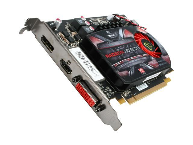 XFX Radeon HD 5670 (Redwood) DirectX 11 HD-567X-YNFC Video Card w/ATI Eyefinity